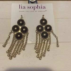 New dangle earrings from Lia Sophia